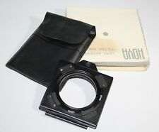 Hoya - 55mm Filter Holder - Box/Case/Instructions