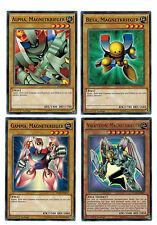 YUGIOH Alpha, Beta, Gamma , Valkyrion magnetkrieger ygld-deb01/11/12/13 LOT