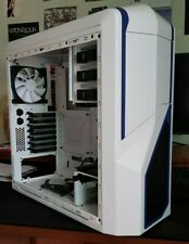 Case NZXT Phantom 410 Mid Tower  White Gaming Case Ottime Condizioni No Scratch