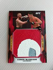 2020 UFC Topps Knockout CONOR MCGREGOR Red Jumbo Ruby Relic #1/8