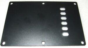 Fender Squier Stratocaster Vintage Backplate Single Ply Black Custom Build