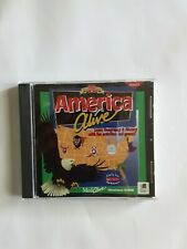 � America Alive Educational Cd-Rom Pc Game ~ Geography & History ~
