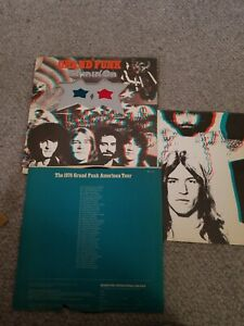 Grand Funk Railroad Shinin On Vinyl LP with glasses and 3D poster