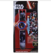 Clock projector star wars star wars image projection watch 24