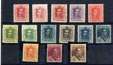 Sellos de España 1922-1930 nº 310/323 Alfonso XIII vaquer Nuevos con charnela