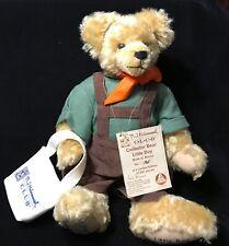 Hermann Hummel Club Collectible Mohair Teddy Bear Little Boy No. 161 of 500 14�