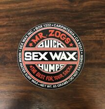 Sex Wax Sticker - Sticky Bumps, T&C, Maui And Son, Surf Sticker