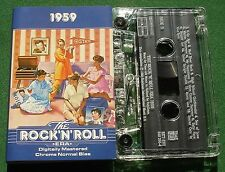The Rock & Roll Era 1959 Connie Francis Big Bopper + Cassette Tape - TESTED