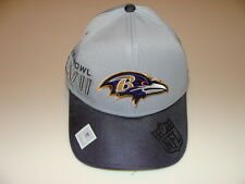 New Era Hat Cap NFL Baltimore Ravens M/L 39thirty 2012 Super Bowl XLVII Champs