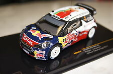 Citroen DS3 WRC 2011 Winner Rally Portugal Ogier-Ingrassia 1:43 Ixo neu & OVP