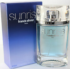 SUNRISE BY FRANCK OLIVIER 2.5 OZ EDT SPRAY FOR MEN NEW IN OPEN BOX