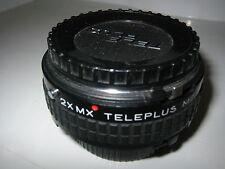 MINOLTA MD FIT 2X MX TELEPLUS MC4 TELEPHOTO CONVERTOR