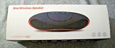 Mini Wireless Bluetooth Speaker w/Control Talk - BLK - Phone/Laptop/PC Range 10M