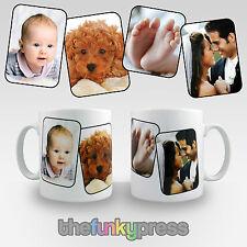 TAZZA PERSONALIZZATA progettazione Tazza con le tue foto, aggiungere testo per libero Caffè Tè Regalo