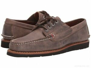 SPERRY TOP-SIDER Men's GOLD CUP Handcrafted in Maine 4-EYE RANGER SHOES - 11M