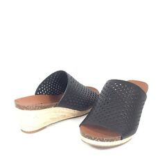 Lucky BRAND Womens Jemya Leather Open Toe Mules 6