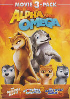 Alpha and Omega: Movie 3-Pack New DVD