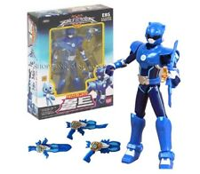 "Miniforce Bolt Korean Robot Action Figure Blue 5.5"" Mountable 4 Weapons 14 Joint"