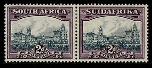 SOUTH AFRICA GV SG44, 2d slate-grey & lilac, M MINT. Cat £28.