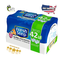 Fresh Step Ultra Unscented Litter Clumping Cat Litter (42 lbs.) For Cat Cleaning