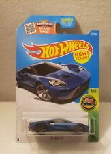 Hot Wheels 17 Ford Gt Blue Hw Exotics New 2016