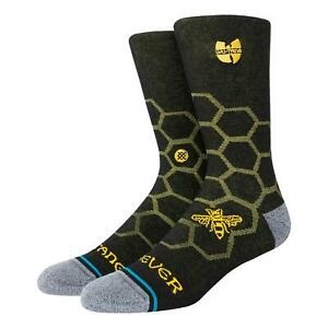 Stance Hive Crew Socks - Black NEW