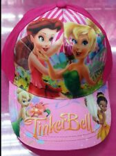 Lot 5pcs Tinkerbell Children shade Sun peaked cap Baseball cap Hats Party Gifts