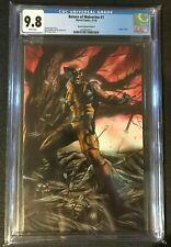 Return of Wolverine # 1 Granov Virgin B Cover Variant CGC 9.8