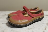 BORN Women's Leather Mary Jane Shoes Size 8