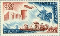 EBS France 1966 Ninth Centenary of the Battle of Hastings - Falaise MNH** YT1486