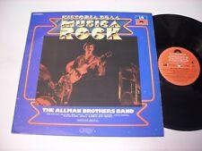 The Allman Brothers Band Historia de la Musica Rock 1982 Stereo Import LP VG++