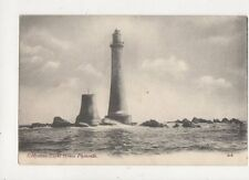 Eddystone Light House Plymouth [J Welch 206] Vintage Postcard 777a