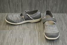 TRAQ by Alegria Qutie Mary Jane Comfort Shoe - Women's Size 11.5-12 - Grey