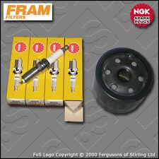 SERVICE KIT for VOLVO S40 II 1.6 16V FRAM OIL FILTER NGK SPARK PLUGS (2004-2012)