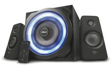 Trust GXT 629 Tytan 2.1 Lautsprecher Set 120W mit Subwoofer und RGB LED