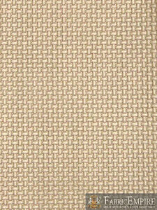 """Vinyl Upholstery Embossed Texture Fabric BASKET WEAVE BAMBINO CHAMPAGNE 54""""W BTY"""
