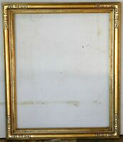 Vintage carved gold leaf frame, fits 24 x 28 painting. Outer dim. 30 x 34