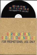 CD CARTONNE CARDSLEEVE COLLECTOR BORN RUFFIANS RED YELLOW AND BLUE 11T