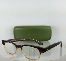 Brand New Authentic MASUNAGA 028 Eyeglasses Brown Clear 49mm Frame