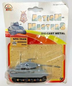 NEW Zylmex - ACTION-MASTERS King Tiger Tank #T403 - DIECAST 1:87 Scale