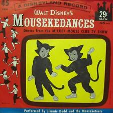 "Walt Disney (7"" Vinyl)Mousekedances-Disneyland-LG 754-VG+/Ex"