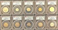 2017S ENHANCED UNC 10 COIN SET PCGS SP70 DENVER ANA ***FIRST DAY***AWESOME SET**