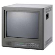 "CH-15DXA CRT  VIDEO MONITOR 15"" 4:3 TVS Free Shipping"
