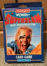 Vintage 1991 WCW Superslam Card Game Waddingtons (WWF WWE Wrestling) - Complete