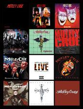 "MOTLEY CRUE album discography magnet (4.5"" x 3.5"")"