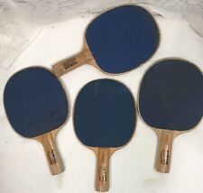 4 vintage Harvard ping pong paddles   table tennis paddle lot * 5 ply * wear