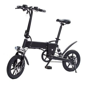 Folding Electric Bike E-Bike, 250W Motor Electric Bicycle for Adults