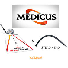 New Medicus Shot Shaper With Steadihead Combo Improve Your Golf Club Swing