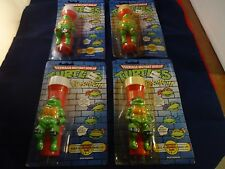 Teenage Mutant Ninja Turtles Set of 4 Flash Lights TMNT Retro Flashlights