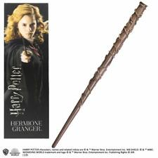 OFFICIAL HARRY POTTER  HERMIONE GRANGER TOY WAND WITH LENTICULAR BOOKMARK NEW